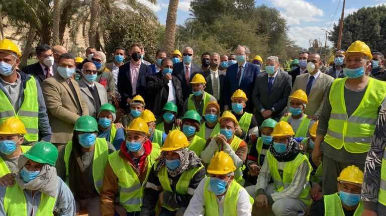 EU egypt ambassador smes minya