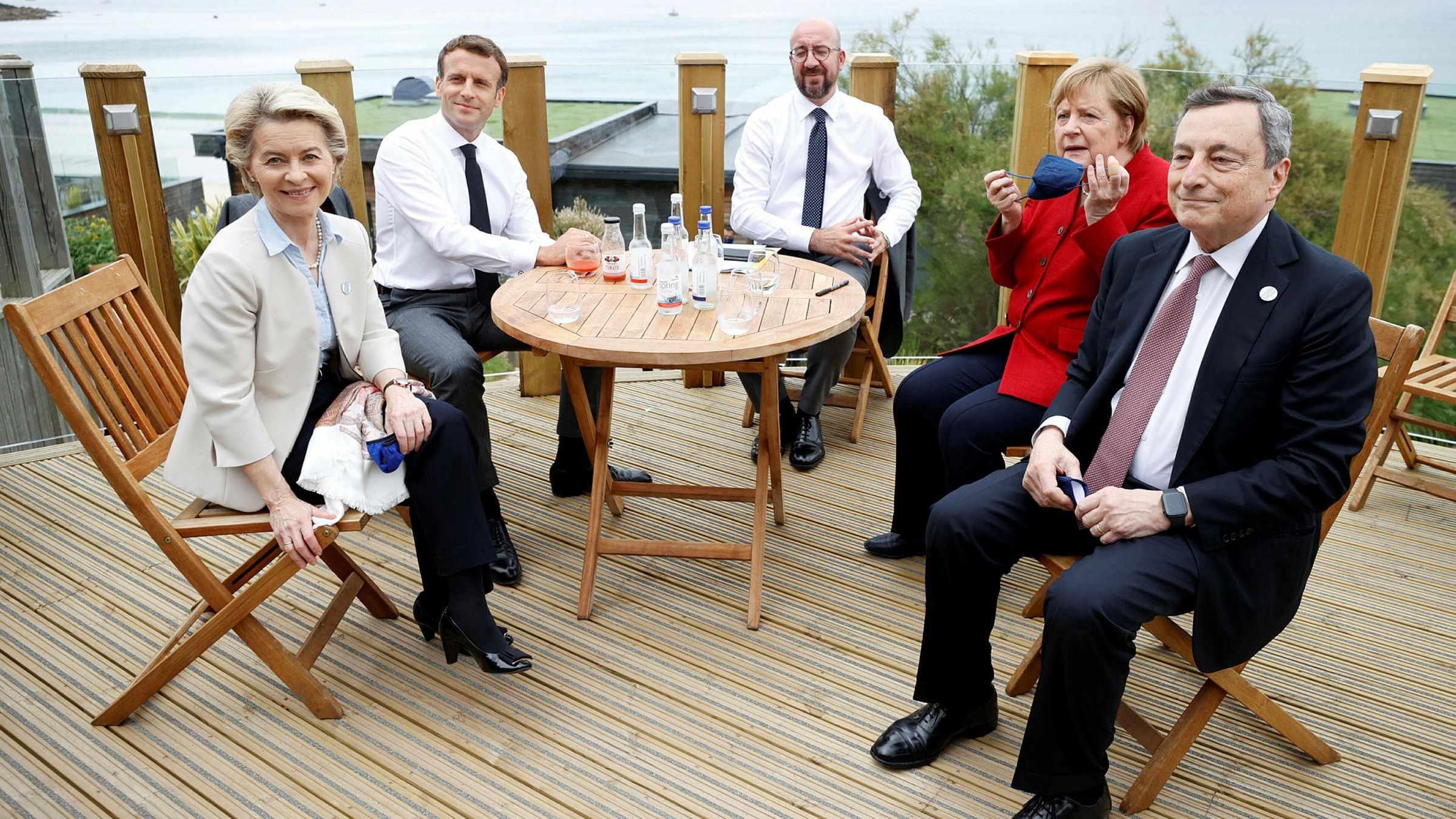 EU ireland g7 leaders boris