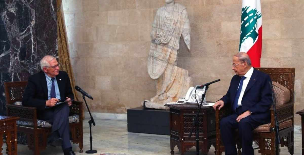 EU lebanese representative officials sanctions