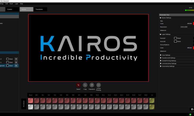 video production live kairos panasonic