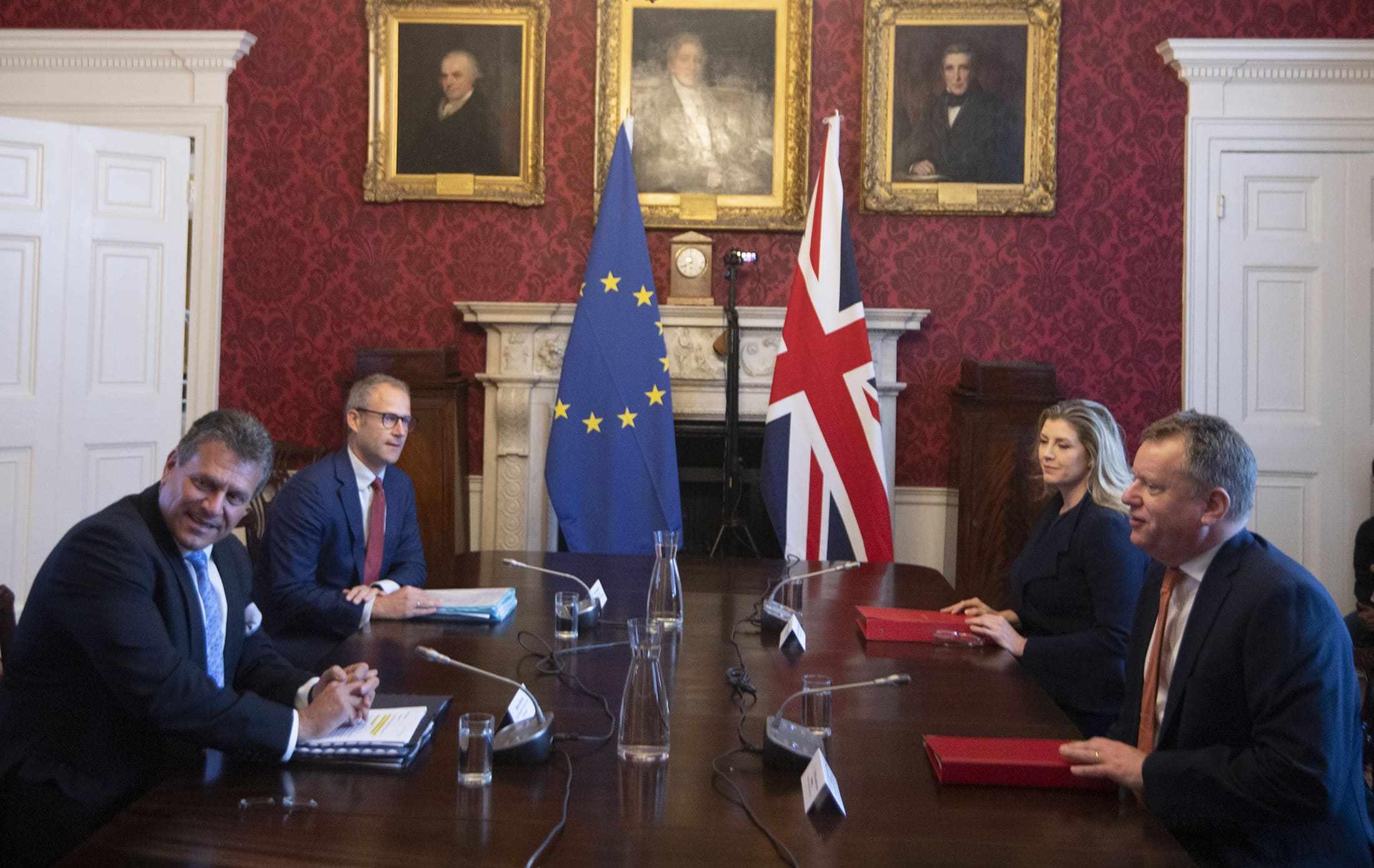 UK EU brexit mini trade
