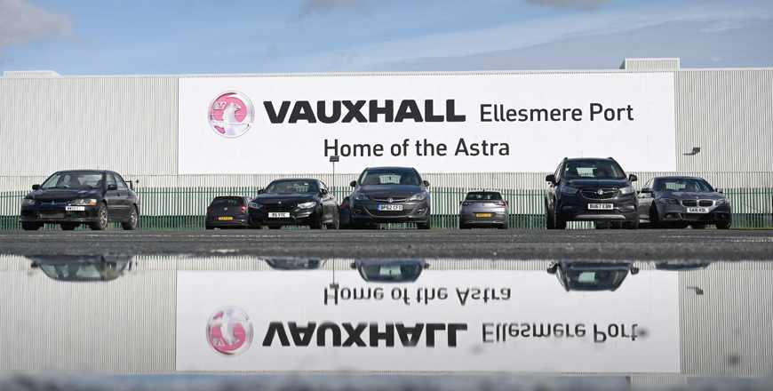 UK electric plant stellantis vehicles