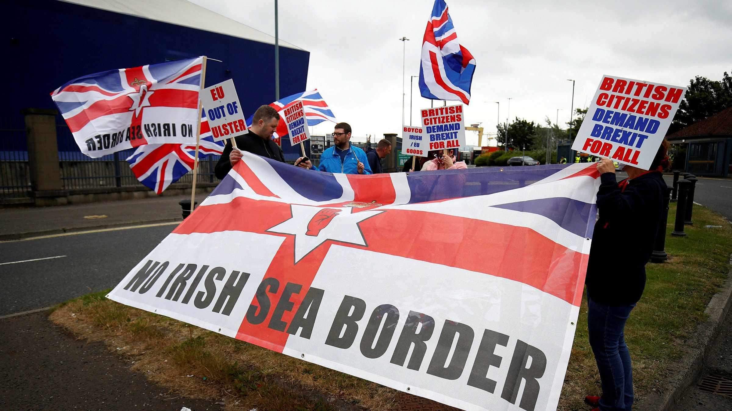 UK ireland brexit northern
