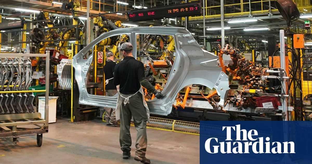 UK output demand factory were