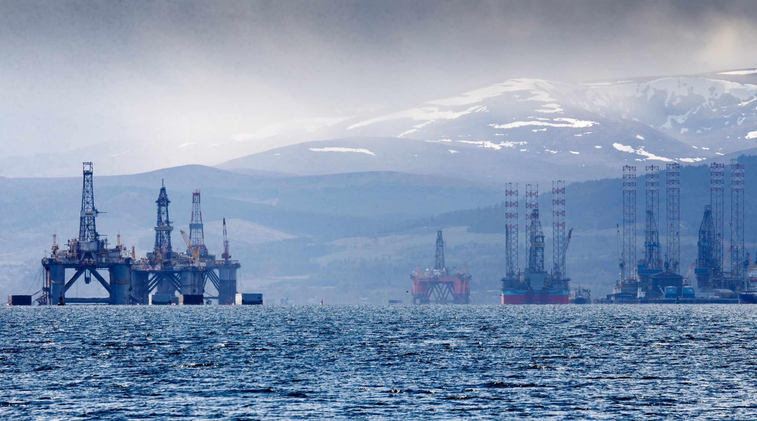 UK revenues oil decommissioning crash