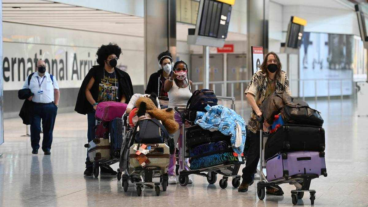 UK travel theresa restrictions blistering