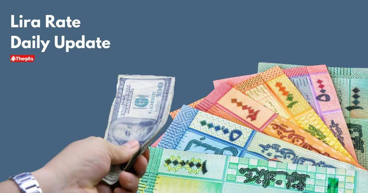 US, dollar, lebanese, today, lira,