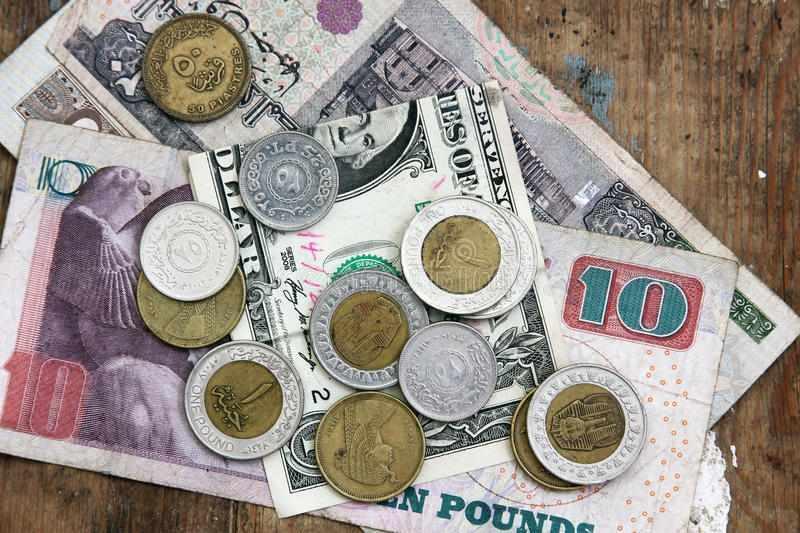 US egypt dollar pound exchange