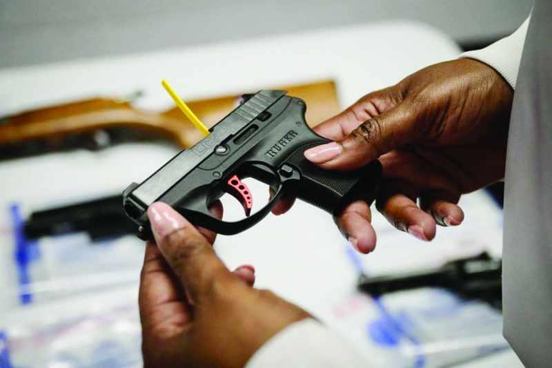 US gun homicides covid lockdowns