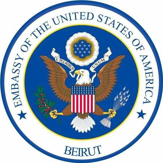US lebanon embassy department treasury