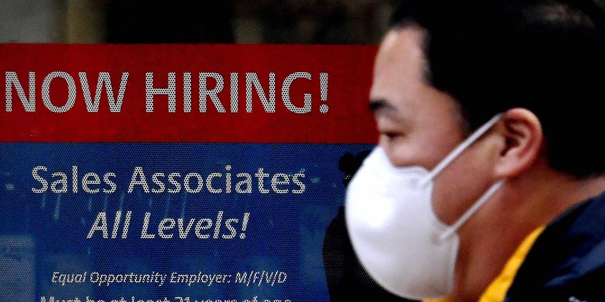 US openings job november hiring