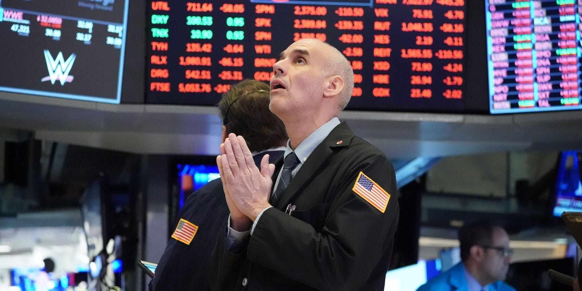 US optimism stocks record highs