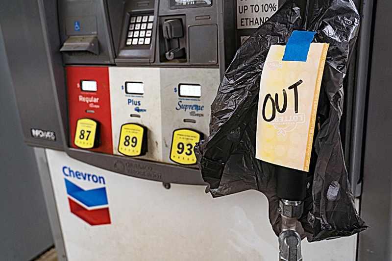 US pipeline shutdown gasoline shortage