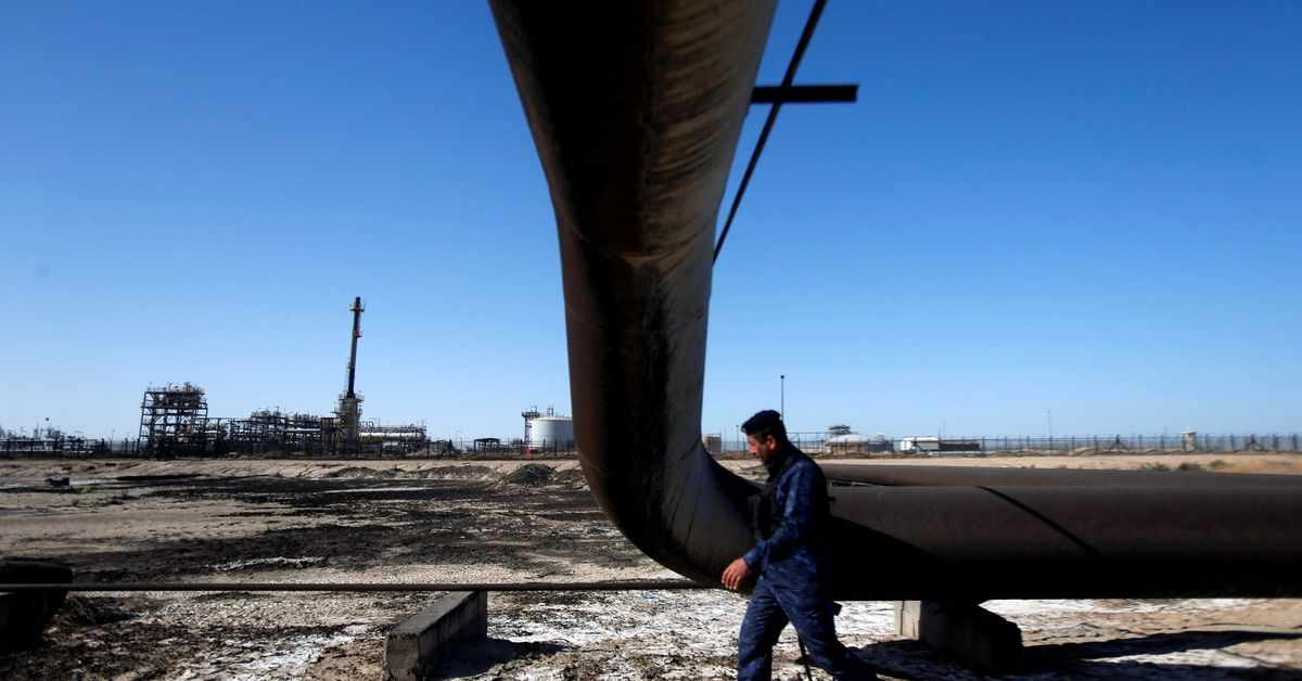 US share iraq exxon