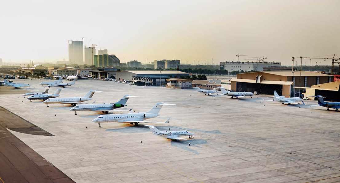 abu-dhabi drill mock bateen airport