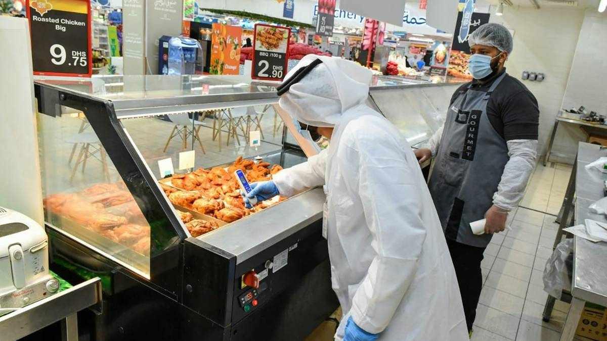 abu-dhabi food safety inspectors fines
