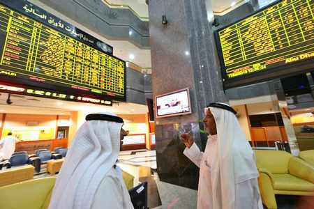 abu-dhabi gulf markets mideast stocks