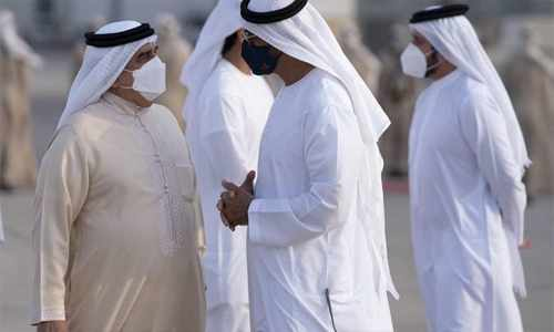 abu-dhabi king tripartite summit dhabi