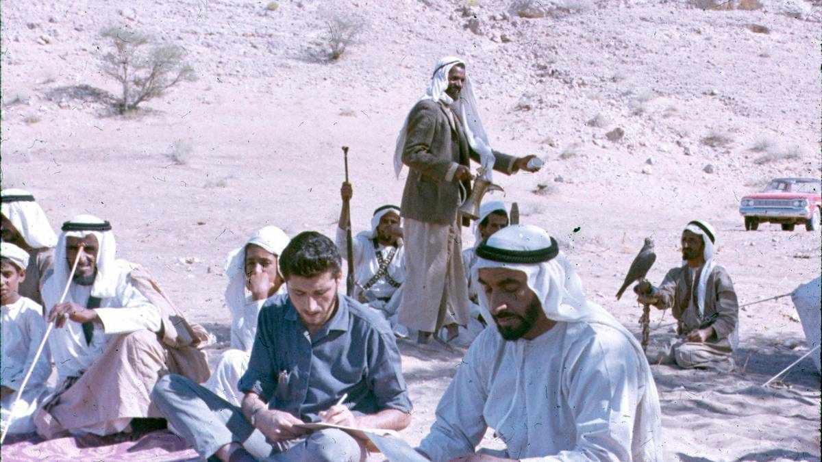 abu-dhabi rare sheikh zayed photos