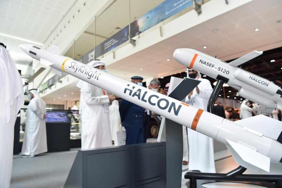 abu-dhabi uae defence halcon missile