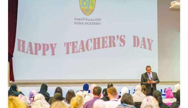 academy, teachers, doha, pandemic, efforts,