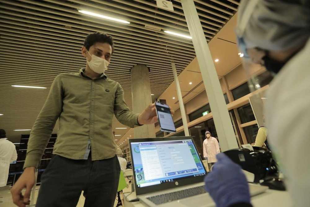 airport jordan coronavirus