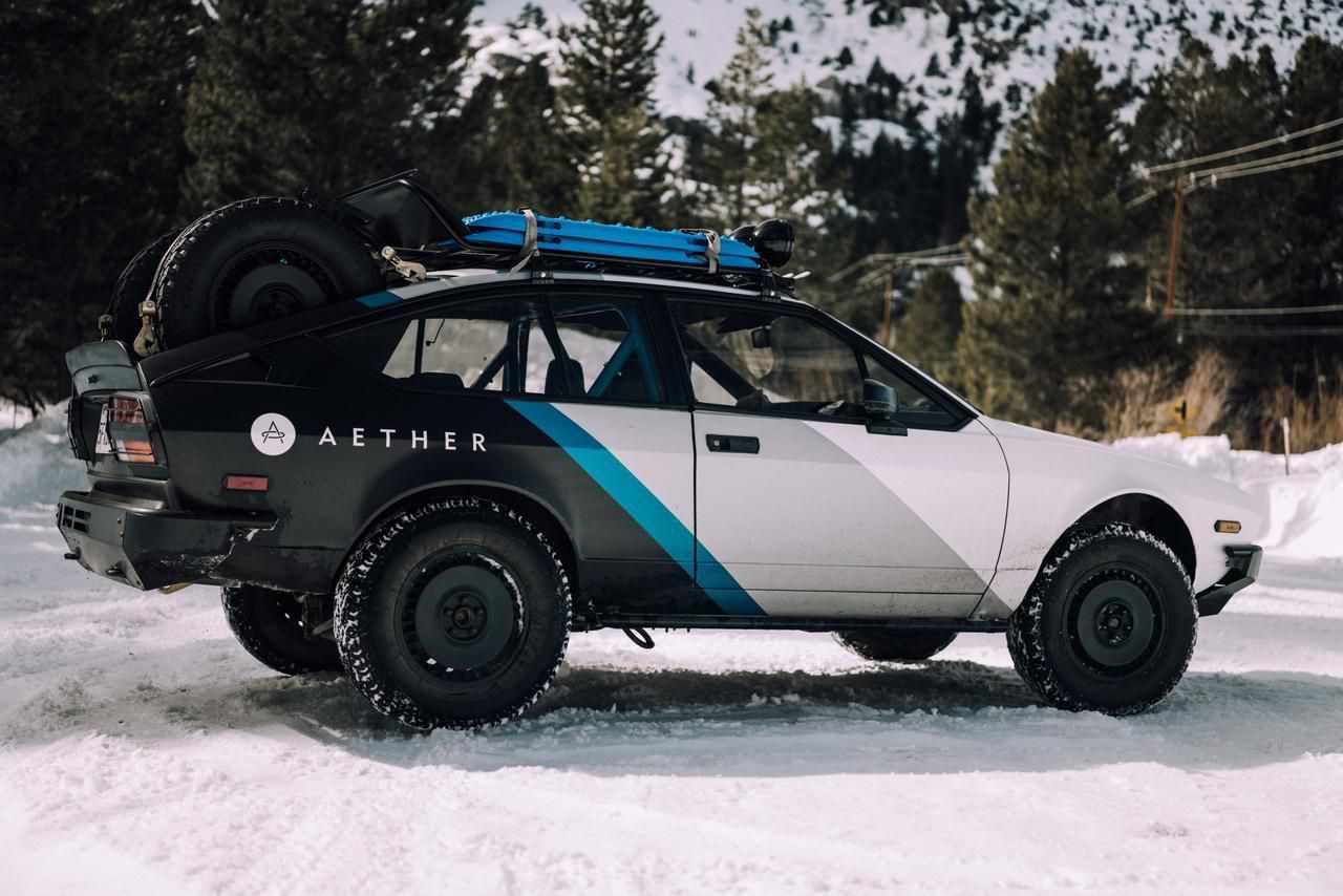 alfa romeo adventure ready aether