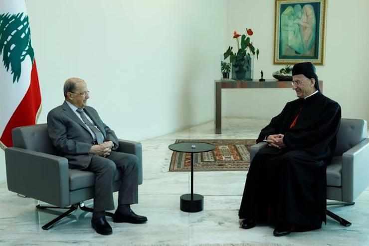 aoun rai hariri mediation patriarch