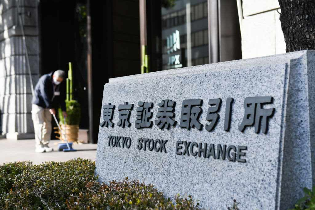 asia pacific dow stocks straight
