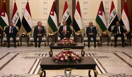 baghdad summit promises tripartite signalled