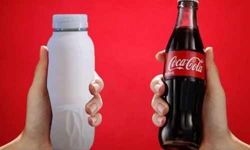 bahrain coca cola paper bottles