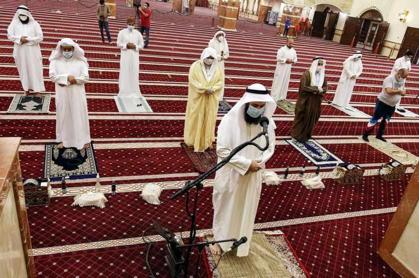 bahrain covid community cases mosque