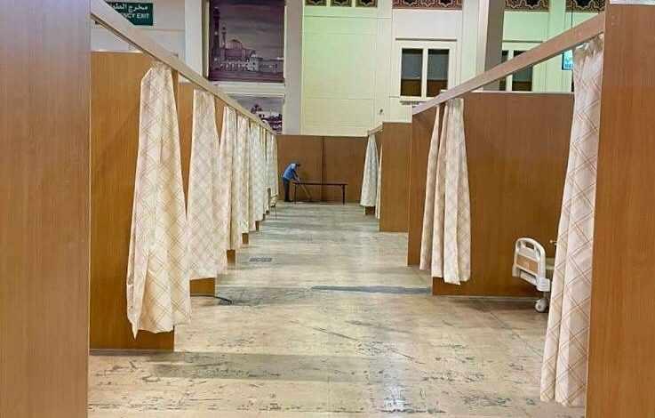 bahrain covid treatment unit patients