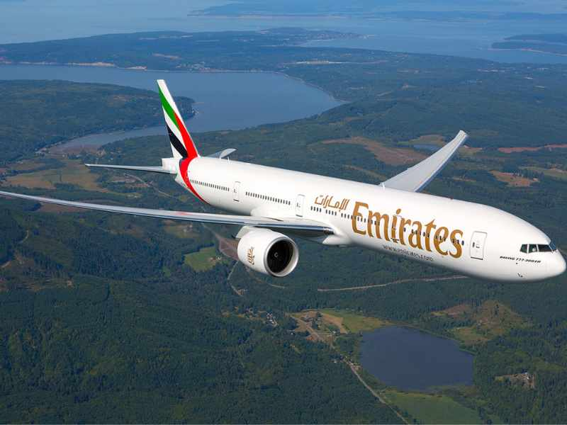bahrain emirates flight hrs dubai