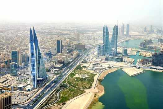 bahrain exports january compared previous