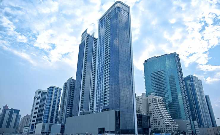 bahrainana infinity residential tower