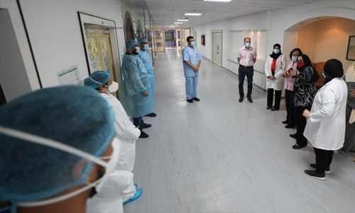 bahrain health medical frontliners tribune