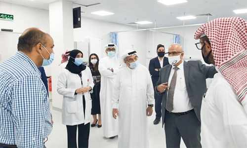 bahrain integrated unit salmaniya medical