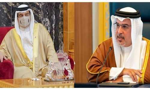 bahrain king hamad team unwavering