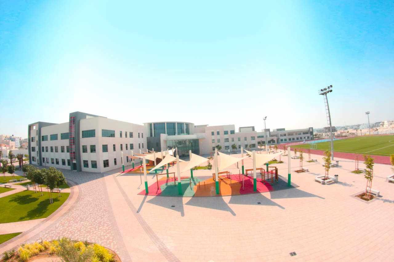 bahrain, school, asb, campus, students,