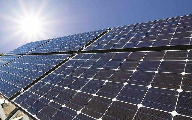 bahrain solar energy plant door