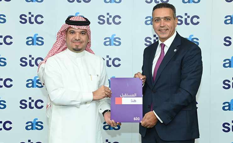 bahrain stc afs partnership solutions