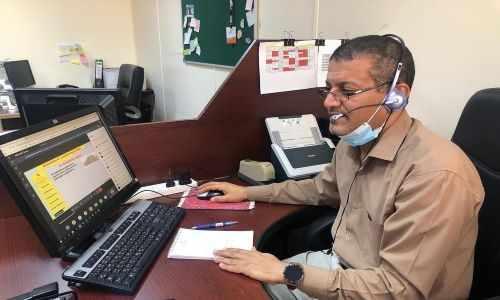 bahrain teaching online challenges pandemic