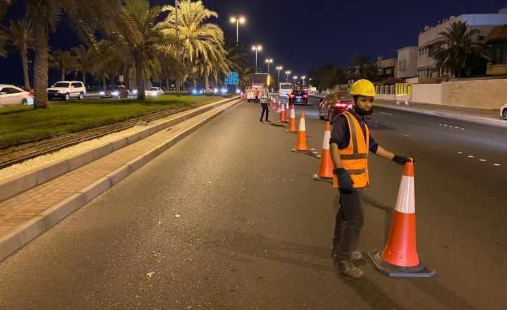 bahrain traffic requests diversion around
