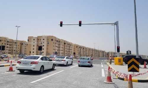 bahrain traffic road northern shaikh
