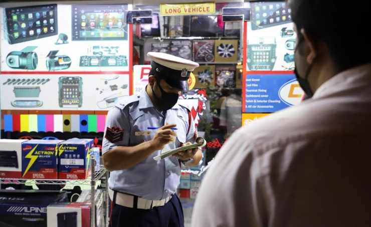 bahrain violations mask face