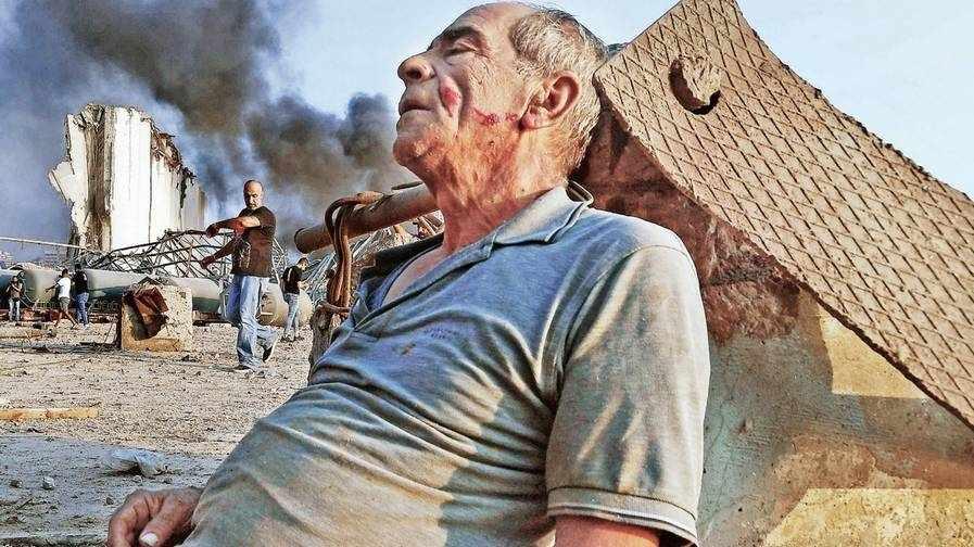 beirut destroyed lebanon