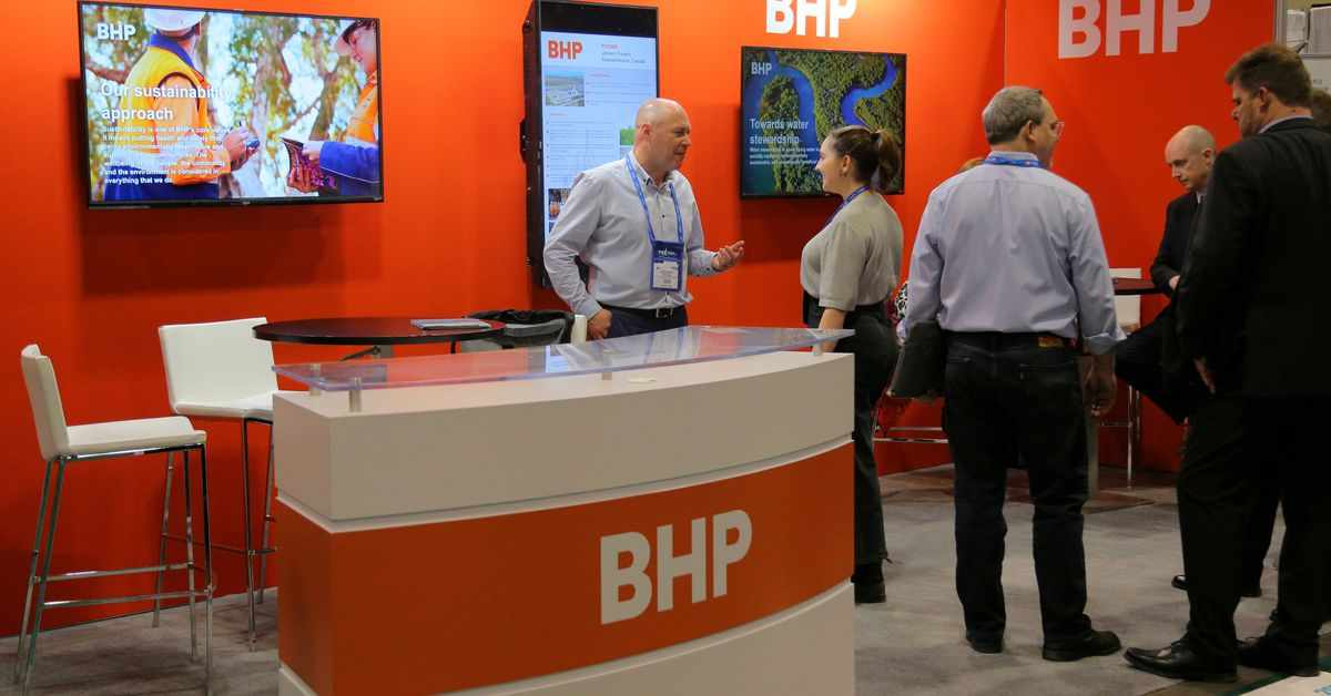 bhp oil gas business