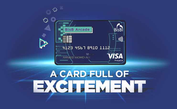 bisb card arcade customers points