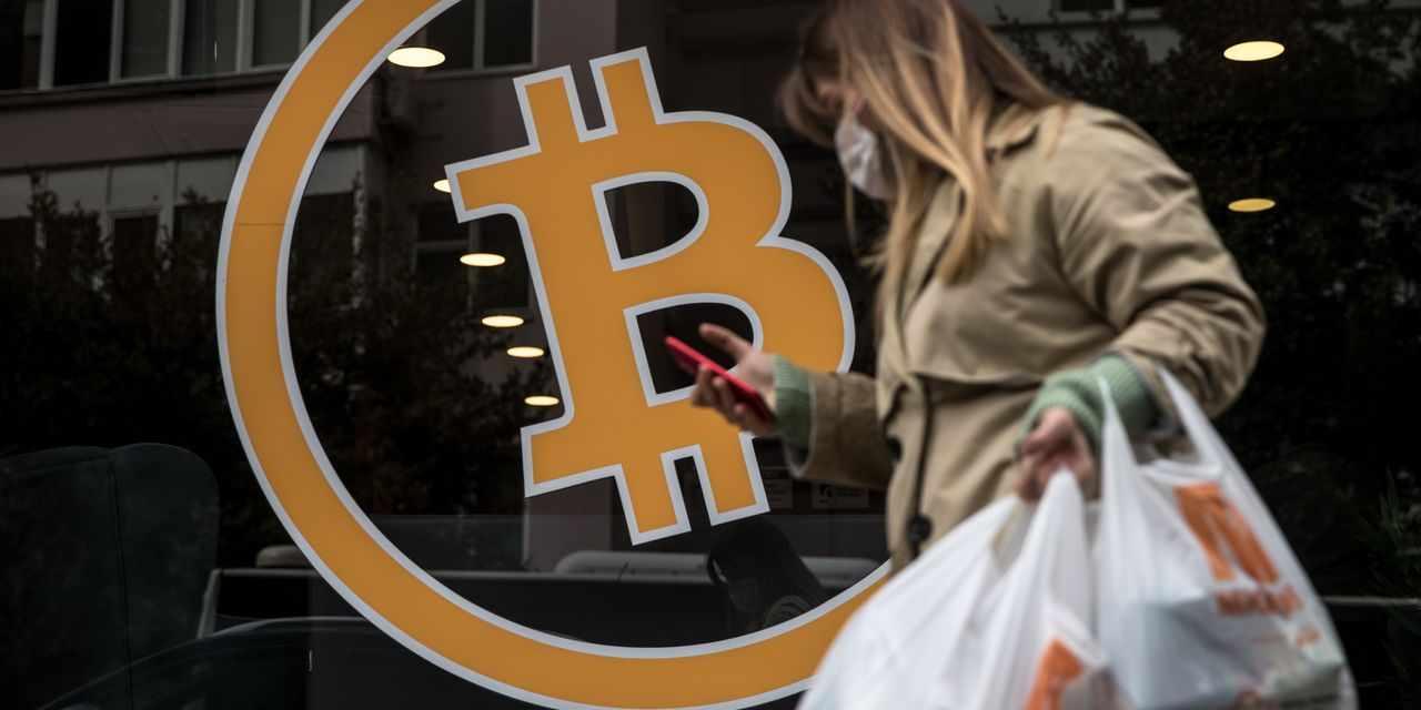 bitcoin slide february coinbase hangover